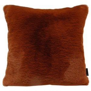 Mink Coral Red Fur Cushion (45x45 cm) - ba78bd35ab91d6211462653ff9413833c54c3cd7 500x500