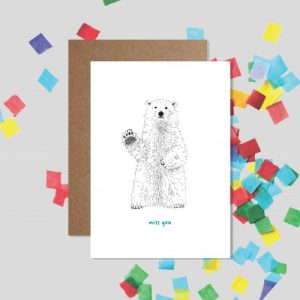 Miss You Bear – Thinking of You Card