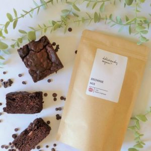 Vegan Brownie Mix - 360g - brownie new 500x500