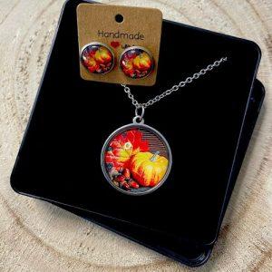 "Stainless steel Earrings & Necklace set ""pumpkin"" - c1f02e3e 764a 46a7 931f 469adca02f9a 500x500"