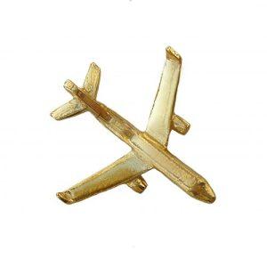 "Golden Pin ""Plane"""