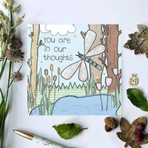 Flossy Teacake In our thoughts Woodland Card - il 794xN.2453629958 e0u4 500x500
