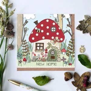 Flossy Teacake New Home Toadstool Woodland Card - il 794xN.2514966395 en6w 500x500