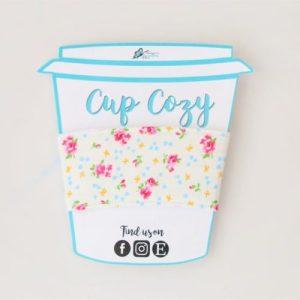 Coffee Cup Cozy – Floral