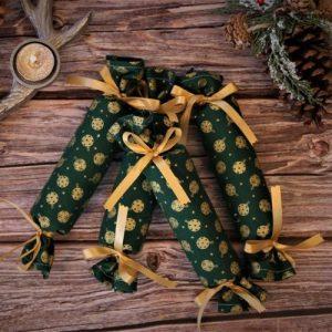 Christmas Cracker Green Bubble – Set of 6