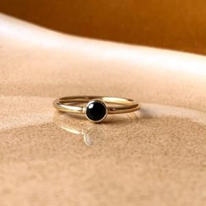 New Moon Ring - Black Spinel - image 4eb36c5b f586 411b acad fa76e8d1ceaa 540x 500x500