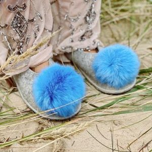 Fairytale Pompom Slippers - image 760cd893 d07d 4f90 9e5e 15daaf514d22 590x 500x443