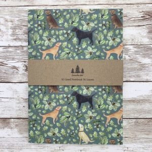 Labrador A5 Lined Notebook - labsa5 main1 scaled 1 500x500