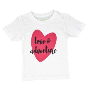 LOVE & ADVENTURE – Short Sleeve T Shirt