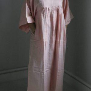 Lounging Maxi Dress 2 ply – Rose