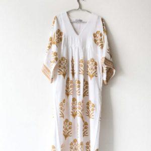 Lounging Maxi Dress 2 ply – Yellow