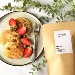 Vegan Pancake Mix - 460g - pancakes new 500x500