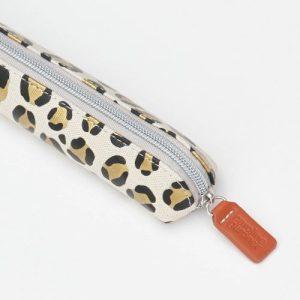 Leopard Print Small Pencil Case