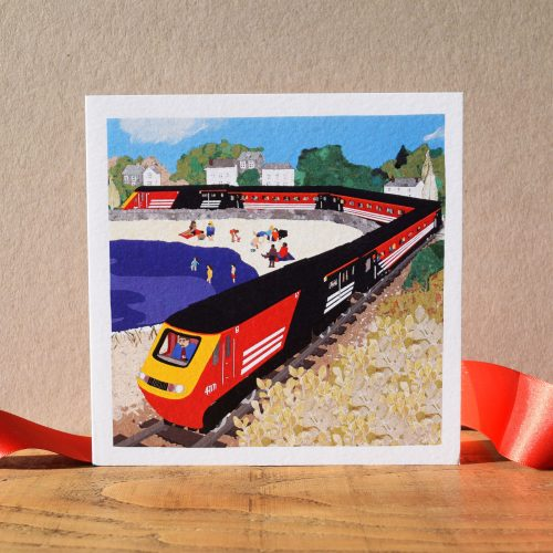 'Whistle and Whine' Train Card (bundle of 6)