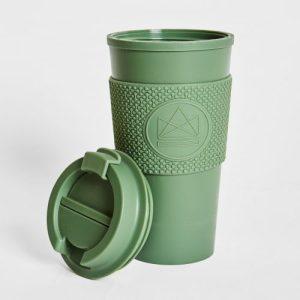 Neon Kactus Double Walled Coffee Cup - Happy Camper 16oz - 0062 NEON KACTUC 26307 1 500x500