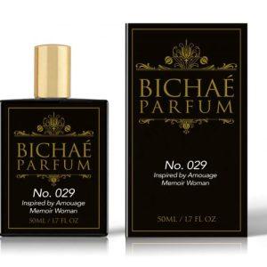 Inspired by AMOUAGEH Memoir Woman Perfume No. 029 Intense – 50ml (Pack of 6)