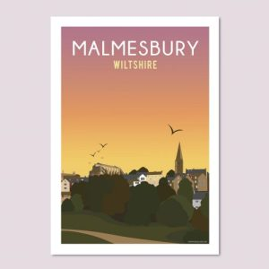 Malmesbury Sunset Poster