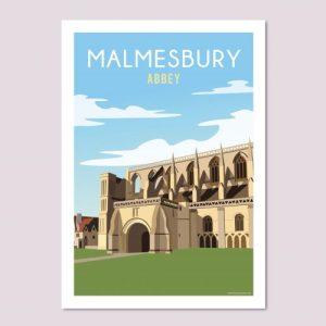 Malmesbury Abbey Poster