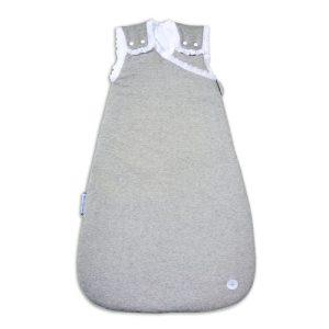 Grey lace baby sleeping bag