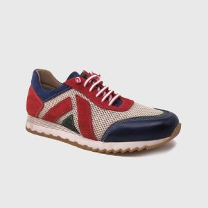 Berel sneakers in red leather