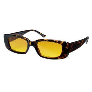 VERTIGO Sunglasses – Tortoise frame with Orange lenses – Sunheroes