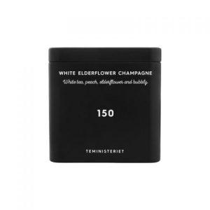 150 White Elderflower Champagne Tin – 50g