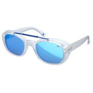 Sputnik Premium Sunglasses Matt White – Sunheroes