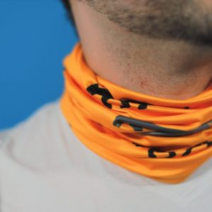 Tiger Temple Tube Scarf