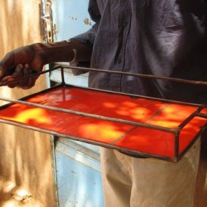 Upcycling Tray Made From Recycled Oil Drums | Size L (40 * 30cm) | Different Color