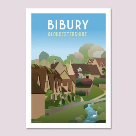Bibury Poster