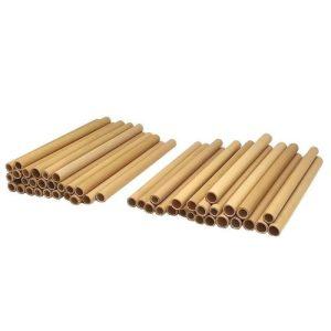 Vie Gourmet Bamboo Straws, 15cm, 100 pcs