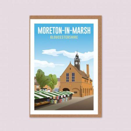 Moreton-in-Marsh Greeting Card