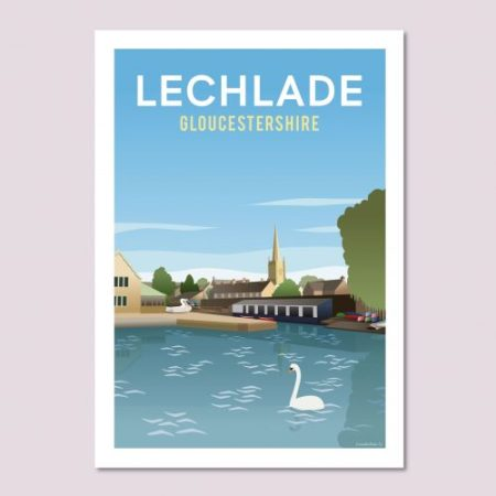 Lechlade Poster