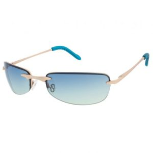 FLEMMING Sunglasses – Pale Gold frame – Ocean lens – Sunheroes