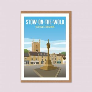 Stow-on-the-Wold Greeting Card