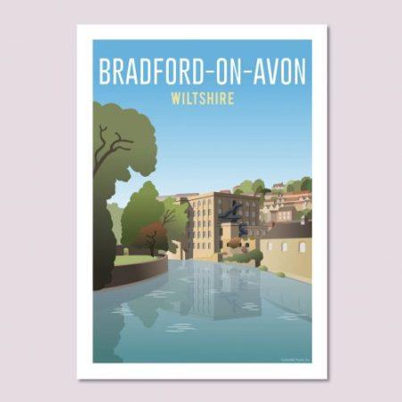Bradford-on-Avon Poster