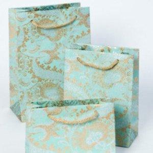 Teal Splendour Gift Bags (10nos.)