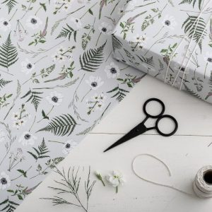 Botanical Wrapping Paper – Wild Meadow (10nos.)