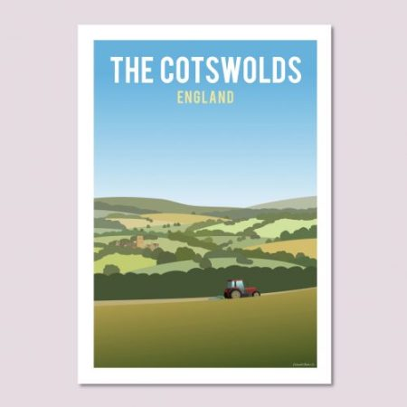 Cotswold Hills Poster
