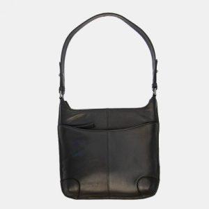 Texan Leather Black Handbag – 842