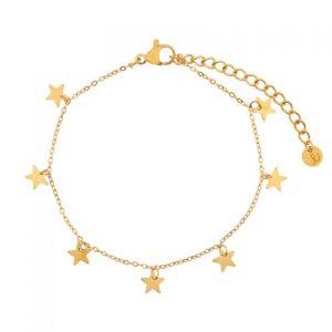 BRACELET A LOT OF STARS GOLD