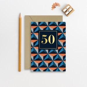 Age 50 Male card