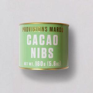Cacao nibs 160g tin - Cacao nibs 160g tin solo 500x500