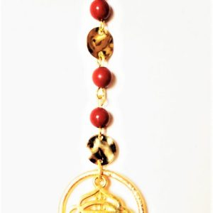 ROOT CHAKRA NECKLACE – Red Jasper