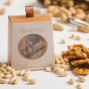 Rock Salted Peanut Brittle - Delectables 0401 Peanut Brittle Box Lifestyle 500x500