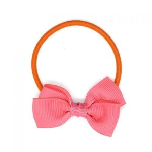 Small Bow Elastic – Coral