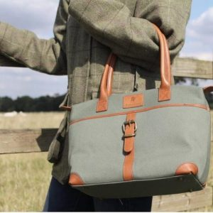 Sedgebrook – Elegant Women's Canvas Handbag – Green