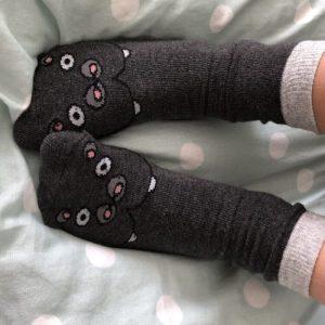 Hippopotamus Socks - IMG 1667 500x500