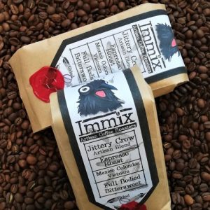225g Jittery Crow – Artisan Blend – Espresso Roast (Dark) (Pack of 10)
