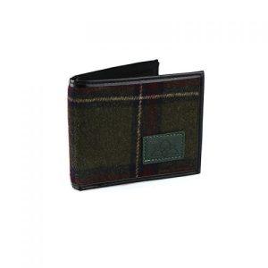 Men's Green Tartan Tweed Wallet - IRT 006F Copy 500x500